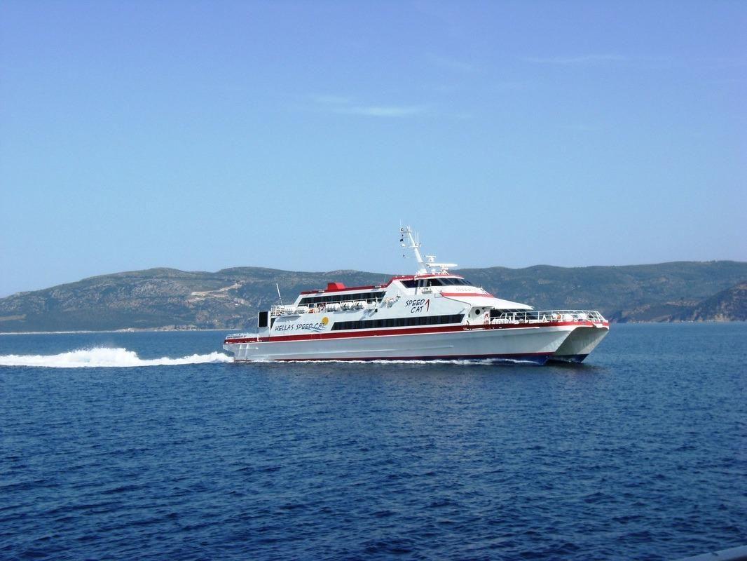 1989 High Speed Catamaran 40m Passenger Vessel Power Boat ...