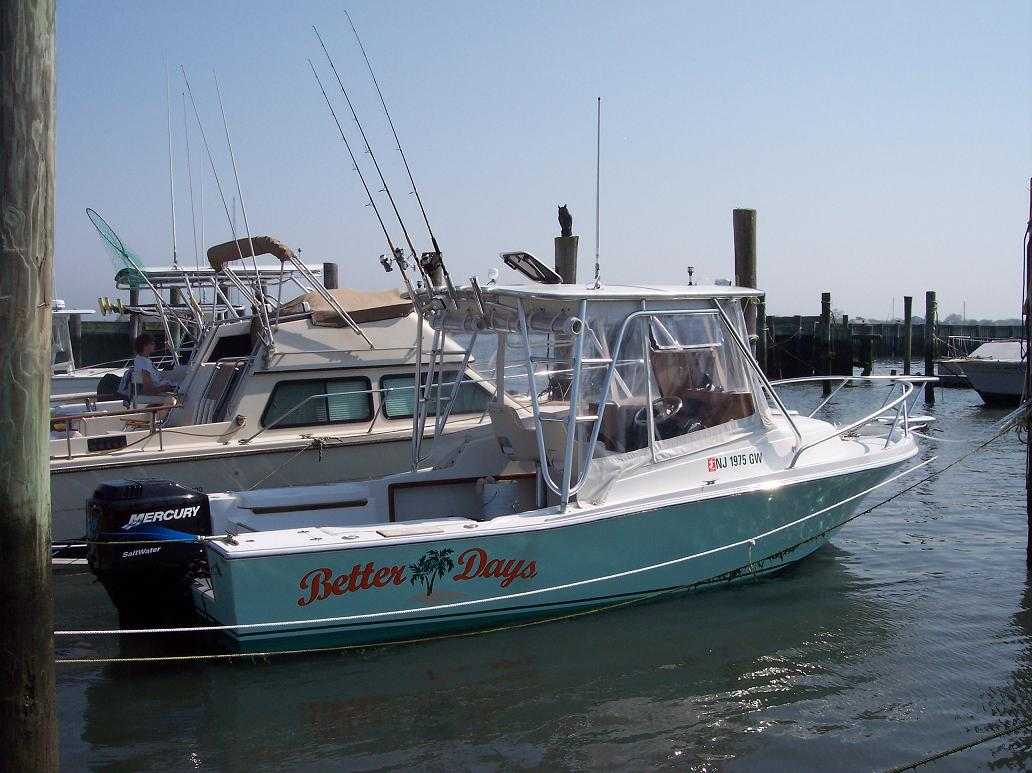23 ft 1986 mako 23 walk/express