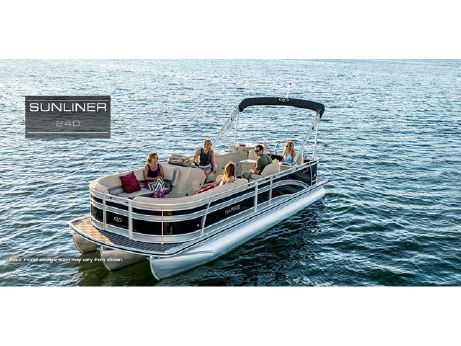 2016 Harris Flotebote Sunliner 240