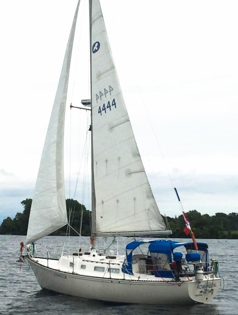 1975 Ontario 32 Sloop Sail Boat For Sale Www Yachtworld Com