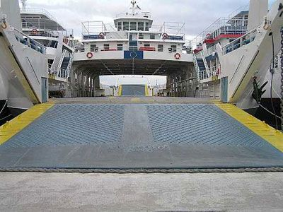 2000 Double Ended Day Pax Car Truck Ferry 91m