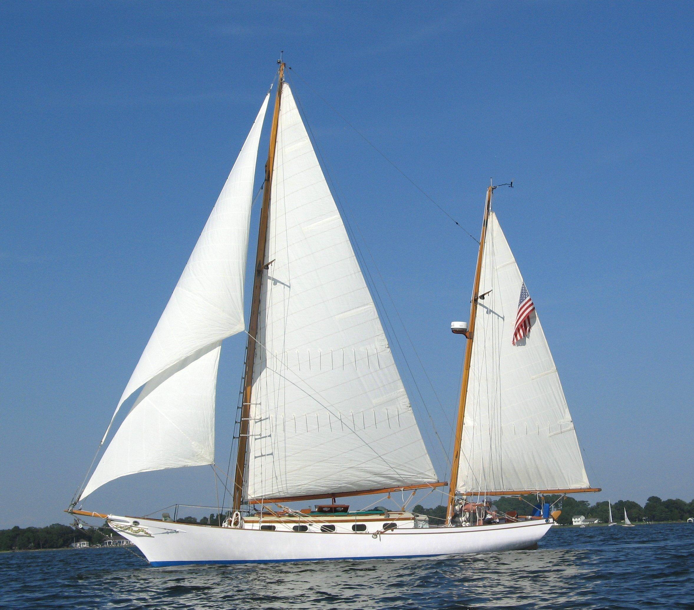 1970 Herreshoff Nereia Sail Boat For Sale Www Yachtworld Com