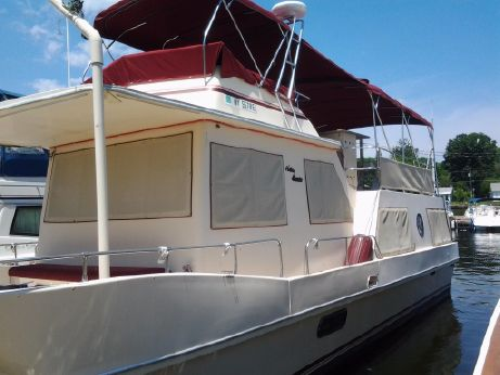1984 Holiday Mansion 38 Coastal Barracuda Aft