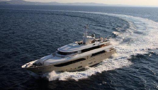 2009 Crn 43M Super Yacht