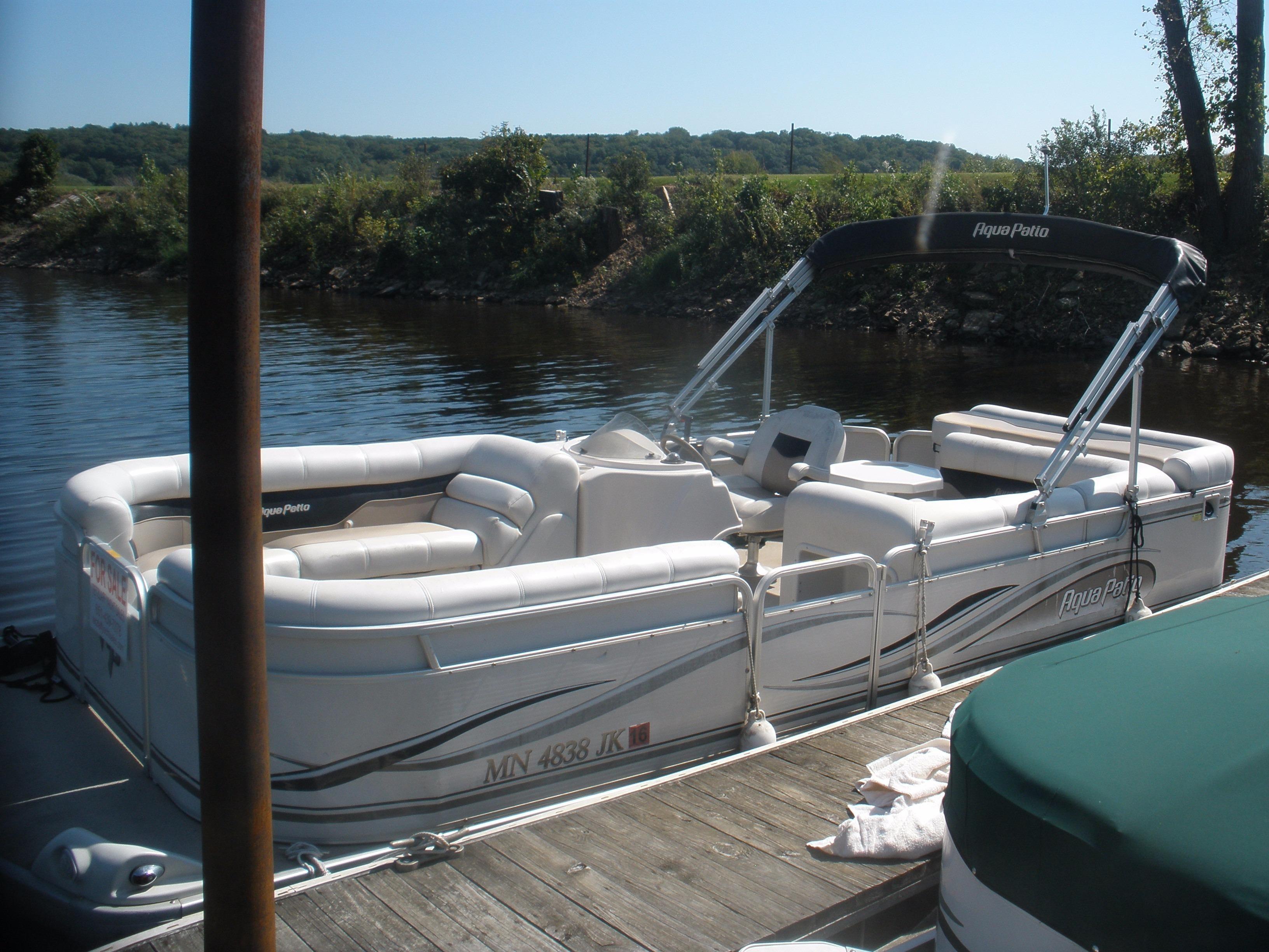 2002 Godfrey Aqua Patio Pontoon Power Boat For Sale