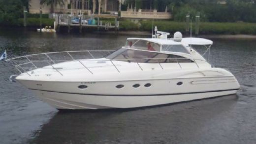 2000 Viking Sport Cruisers V50 Express Yacht with Cats