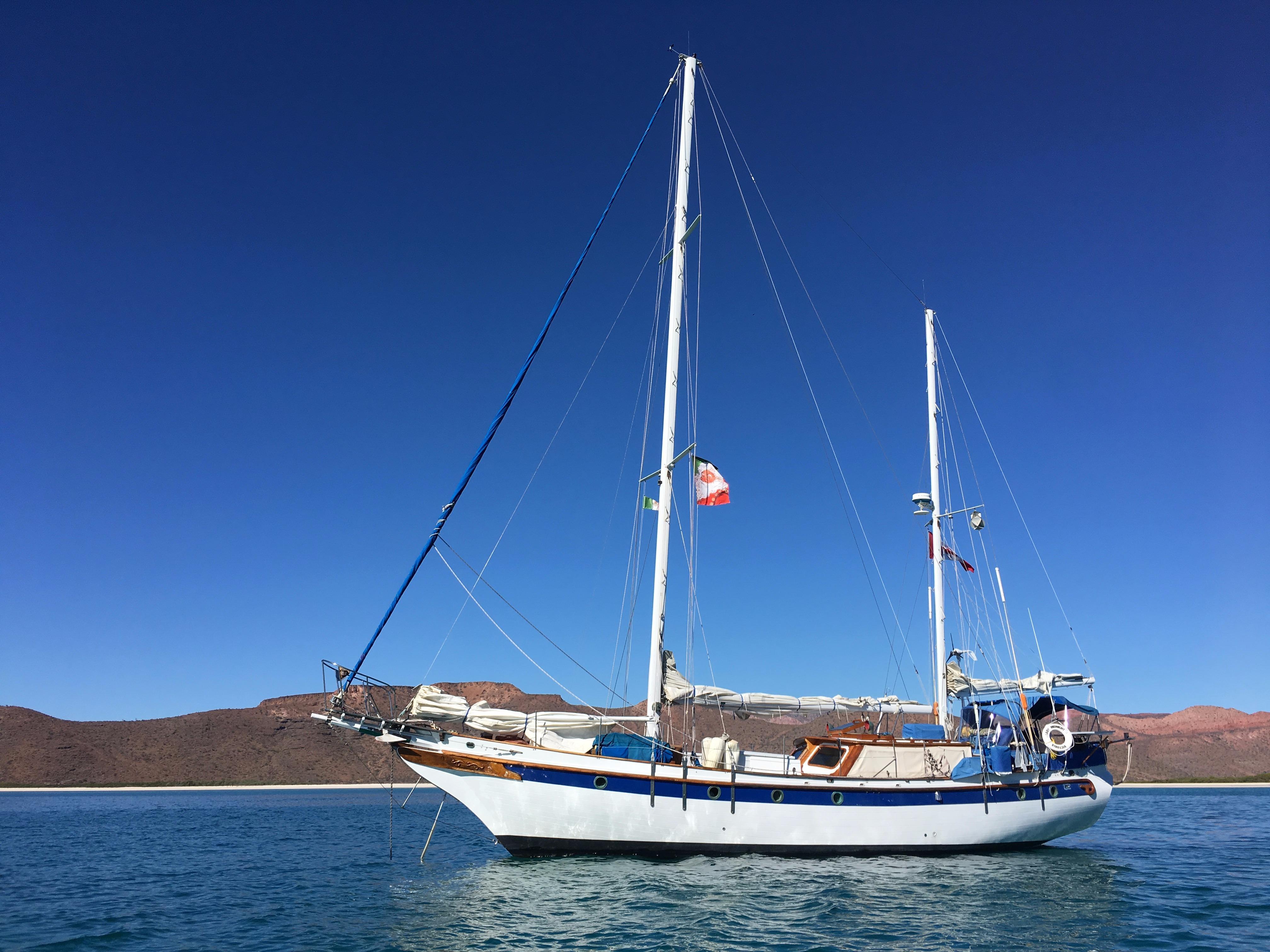 51' Formosa Island Trader Ketch+Boat for sale!