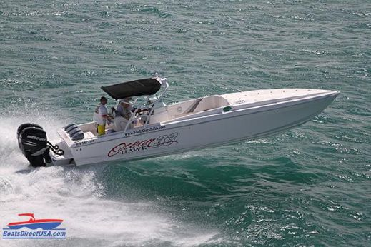 2014 Ocean Hawk Center Console cuddy 33 cuddy