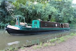 1997 Narrowboat Tug 48' Midland Canal Centre