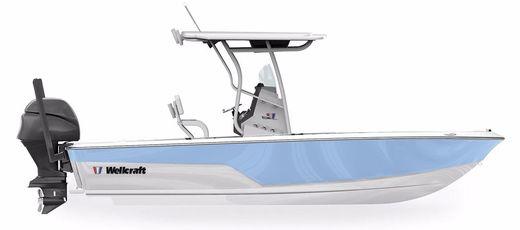 2018 Wellcraft 221 Fisherman