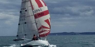 1989 Sailboat QUARTER TON up&down