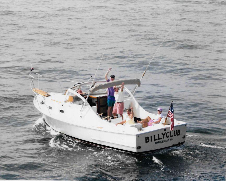 1985 sisu 26 downeast bass boat
