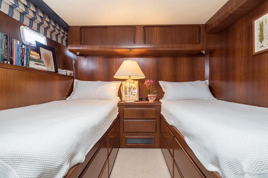 Hatteras 70 Cockpit Motoryacht for Sale San Diego