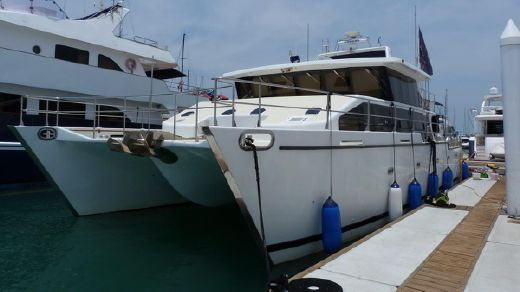 2007 Bluewater Power catamaran 63 feet