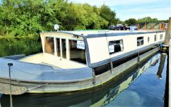2009 Wide Beam Narrowboat 58' x 11' Wheelhouse