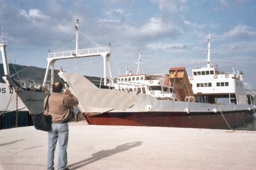 1974 Landing Craft, Trading As Cargo Vessel