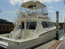 1989 Hatteras Convertible with Tower