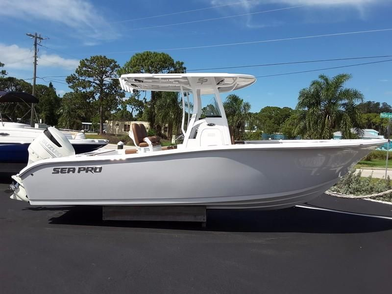2018 Sea Pro 239 Deep V Cc Power Boat For Sale