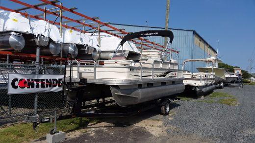 2007 Sun Tracker 21 Fishin Barge