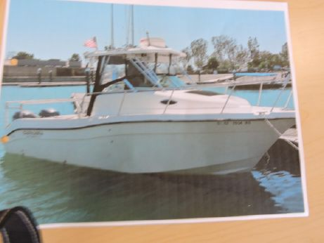 2006 Seaswirl Striper 2601 Center Console O/B