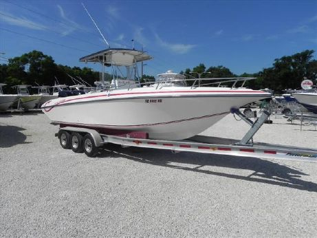 2004 Fountain Fish Boats 29 Sportfish Cruiser OB