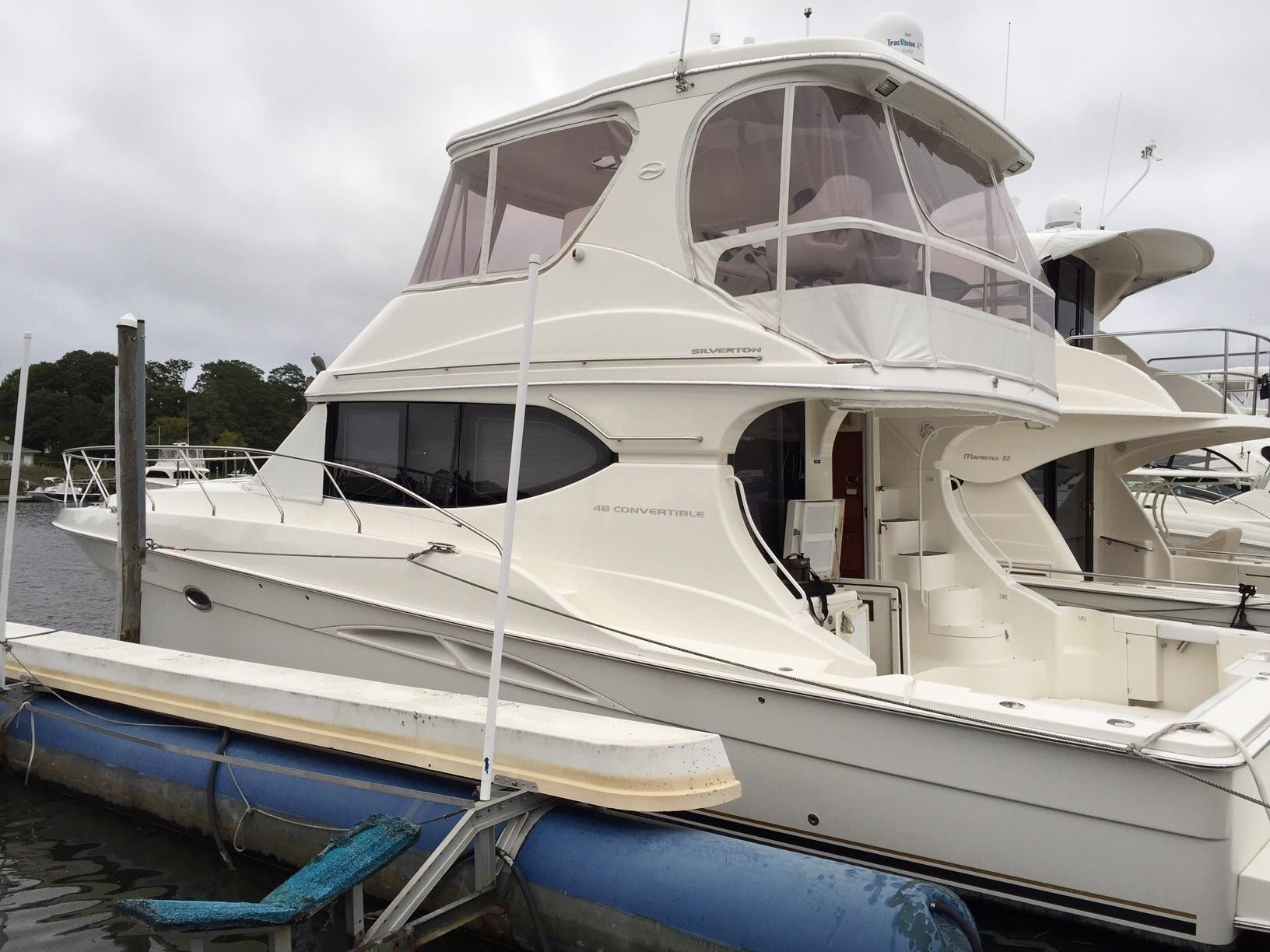 2004 Silverton 48 Convertible Power Boat For Sale - www ...