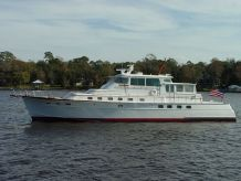 1982 Huckins Sport Cruiser