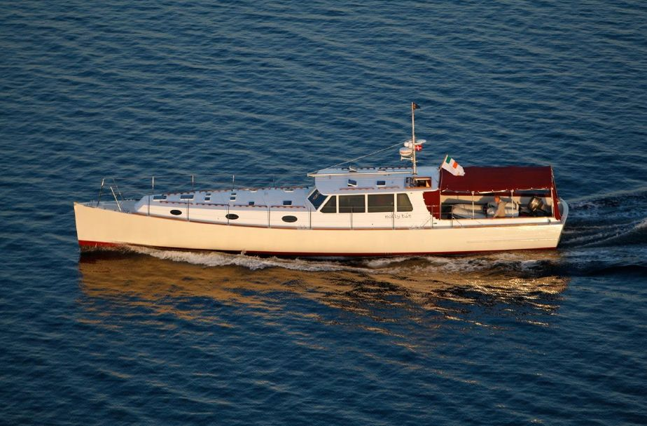 2008 Custom Nigel Irens 63 Modern Classic Power Boat For Sale