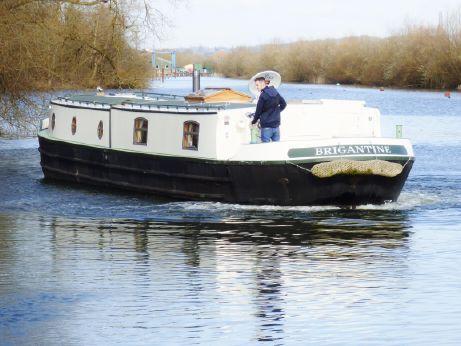 """2014 Brigantine 60 x 12'06"""" Chined Hull Barge"""