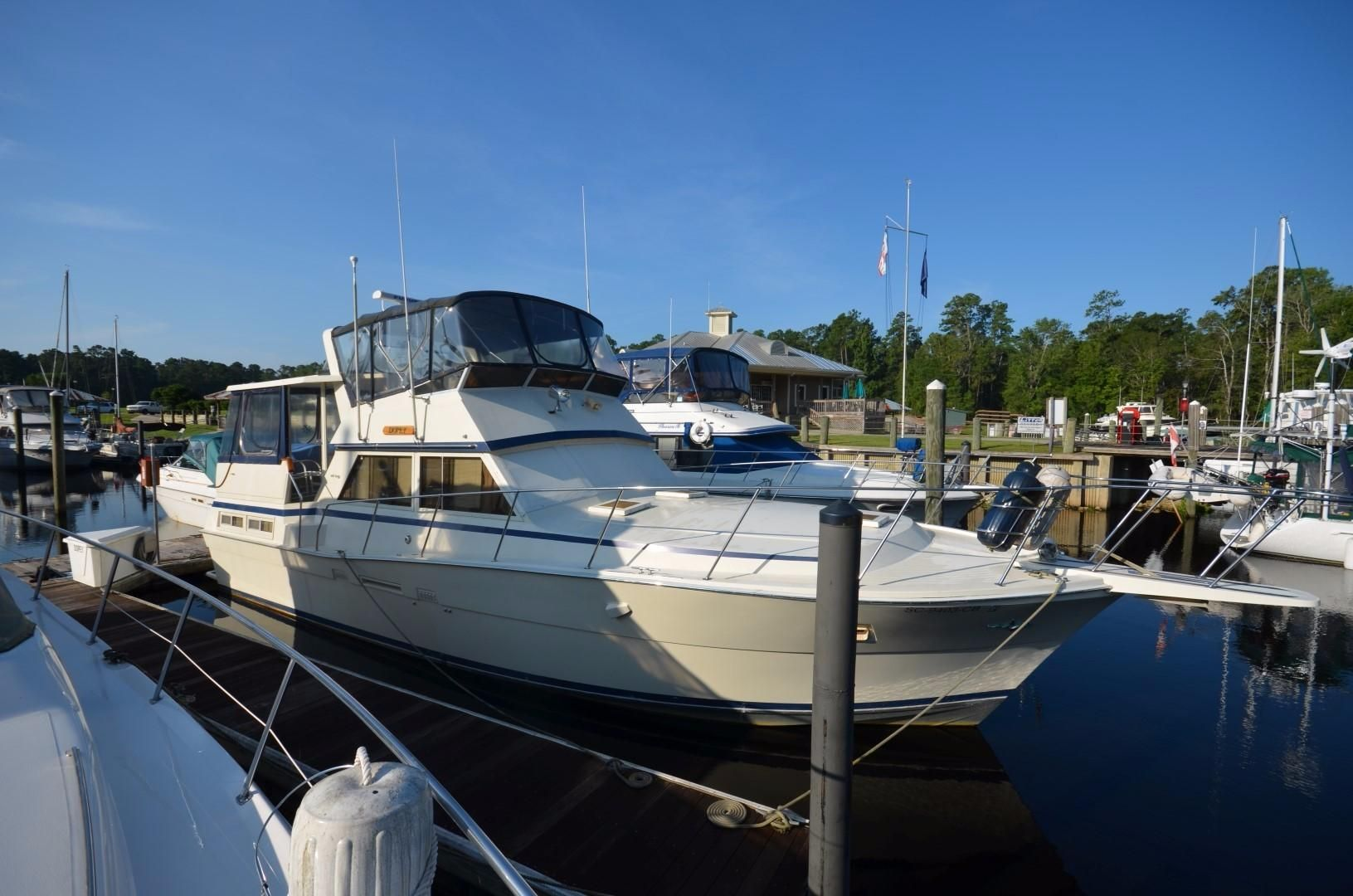 1983 Viking 44 Motoryacht Power Boat For Sale Www