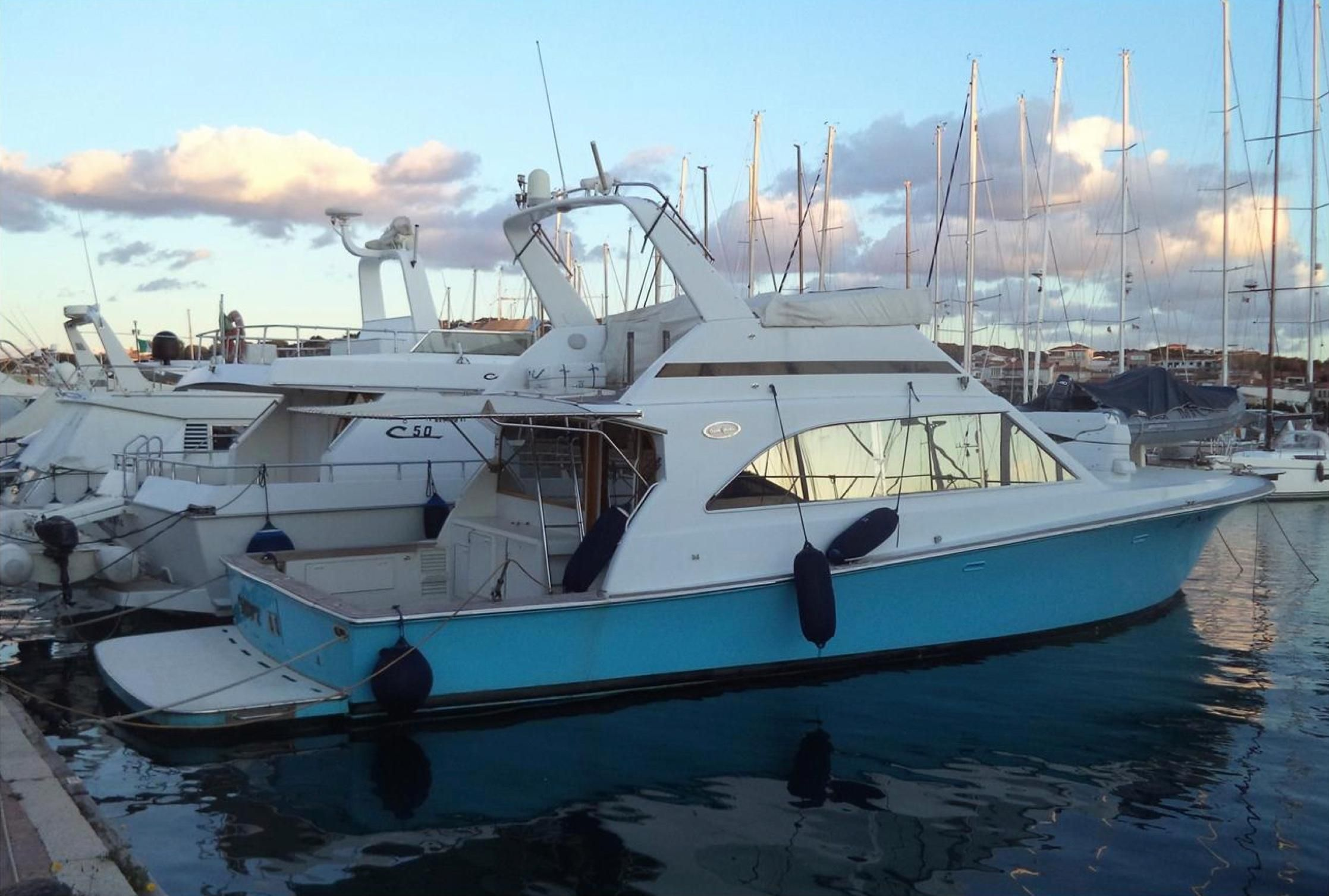 2001 ocean yachts super sport power boat for sale www for Ocean yachts 48 motor yacht for sale