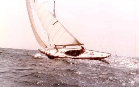 1928 Bjarne Aas International 6mR Yacht