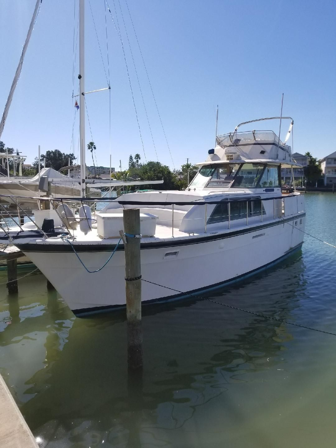 1979 hatteras 43 double cabin power boat for sale www for 72 hatteras motor yacht for sale