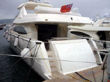 2008 Ferretti Yacht 830 hard top