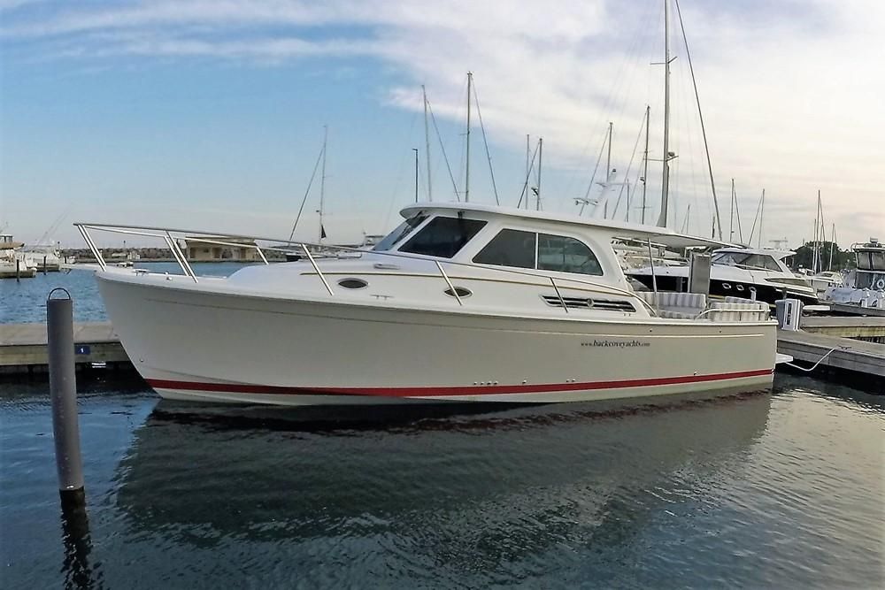 2017 Back Cove Downeast 37 Power Boat For Sale Www