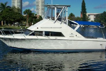 1984 Bertram 30 Flybridge Cruiser