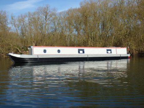 2018 Narrowboat 57' Stem to Stern Semi Trad