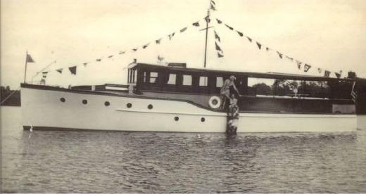 1930 Custom Commuter Yacht