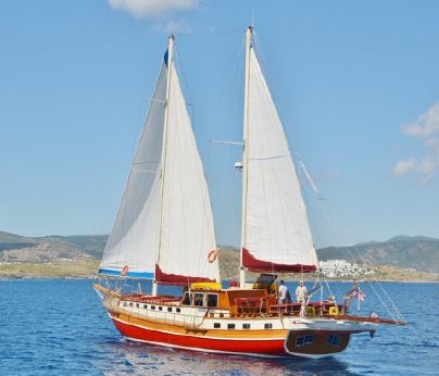 1994 Turkish Bodrum Iroko Gulet Motor Sailers