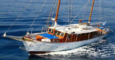 1970 Traditional Greek M/s Wooden Motor Sailer