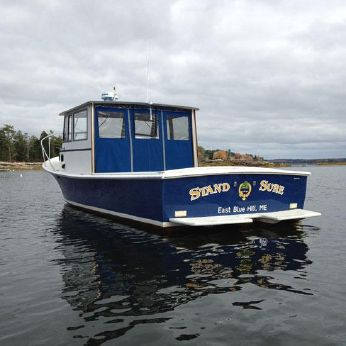 1994 Webbers Cove Downeast pilot house cruiser