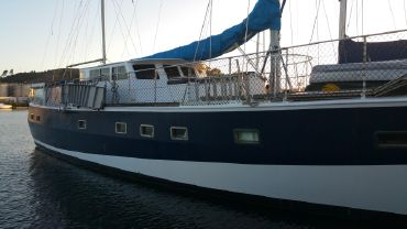 1998 Custom Steel Pilothouse Ketch BLUE WATER CRUISER