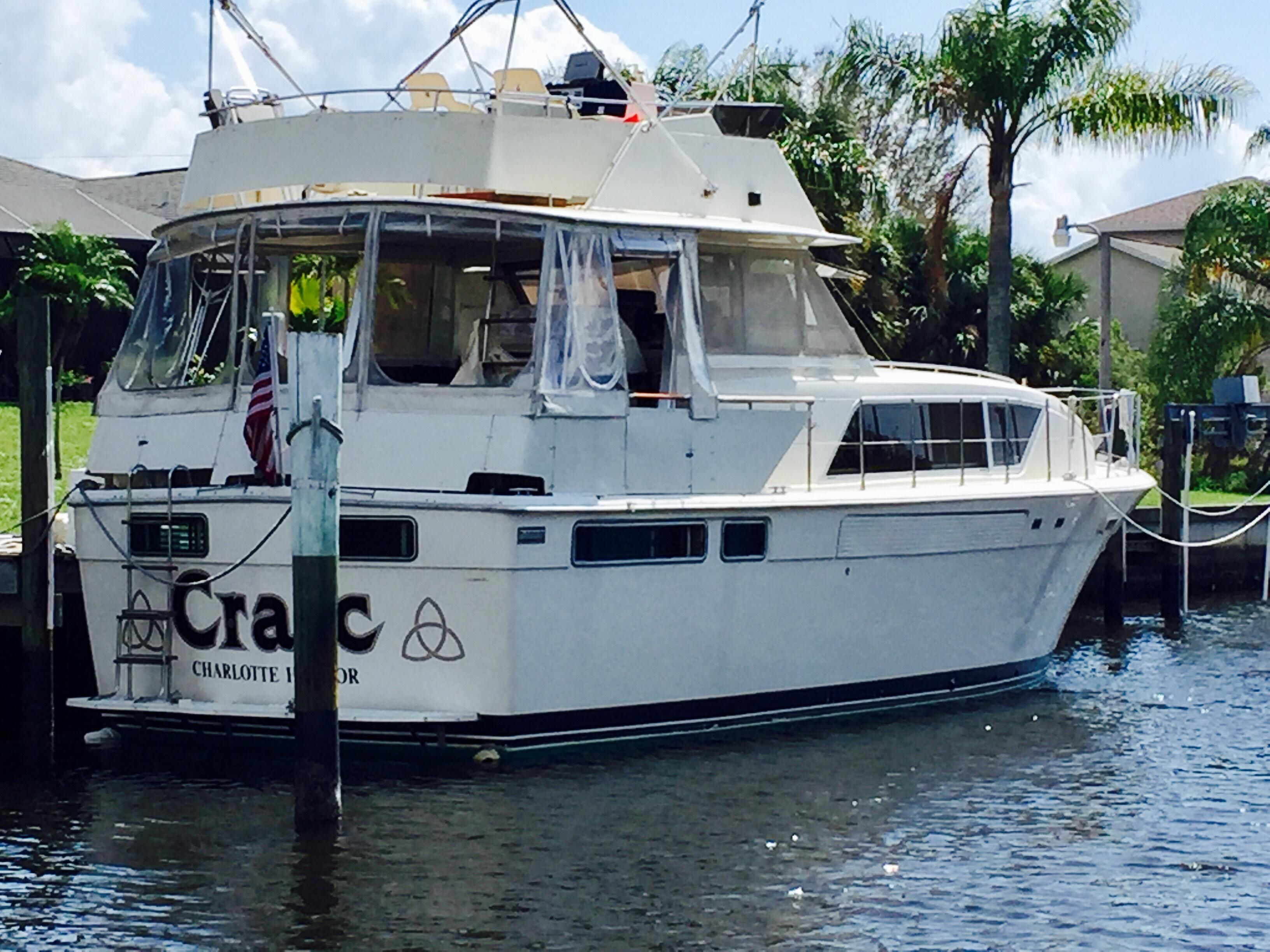 1986 Chris Craft 410 Commander Yacht Power Boat For Sale