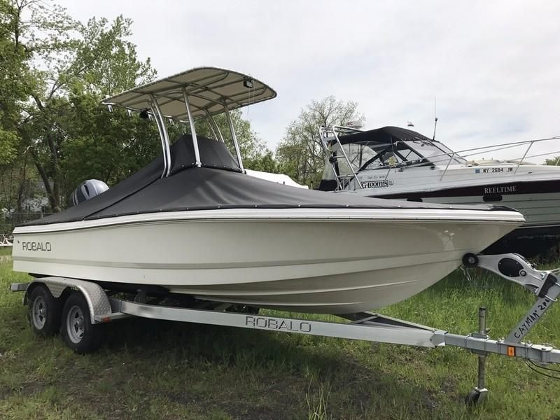 2015 robalo 206 cayman power boat for sale www for Robalo fish in english