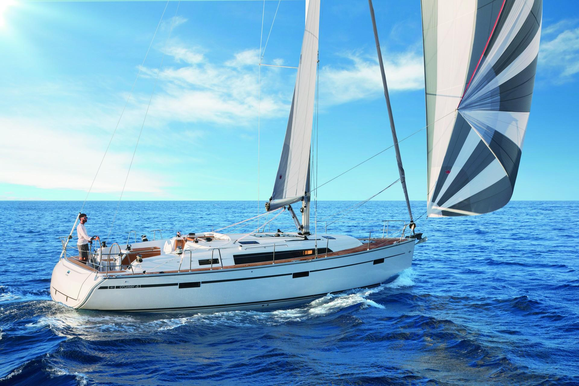 new bavaria singles New vision is bavaria's luxurious cruiser range that was designed after long  aft cabin coverts two singles to a king with plenty  new bavaria vision 42.