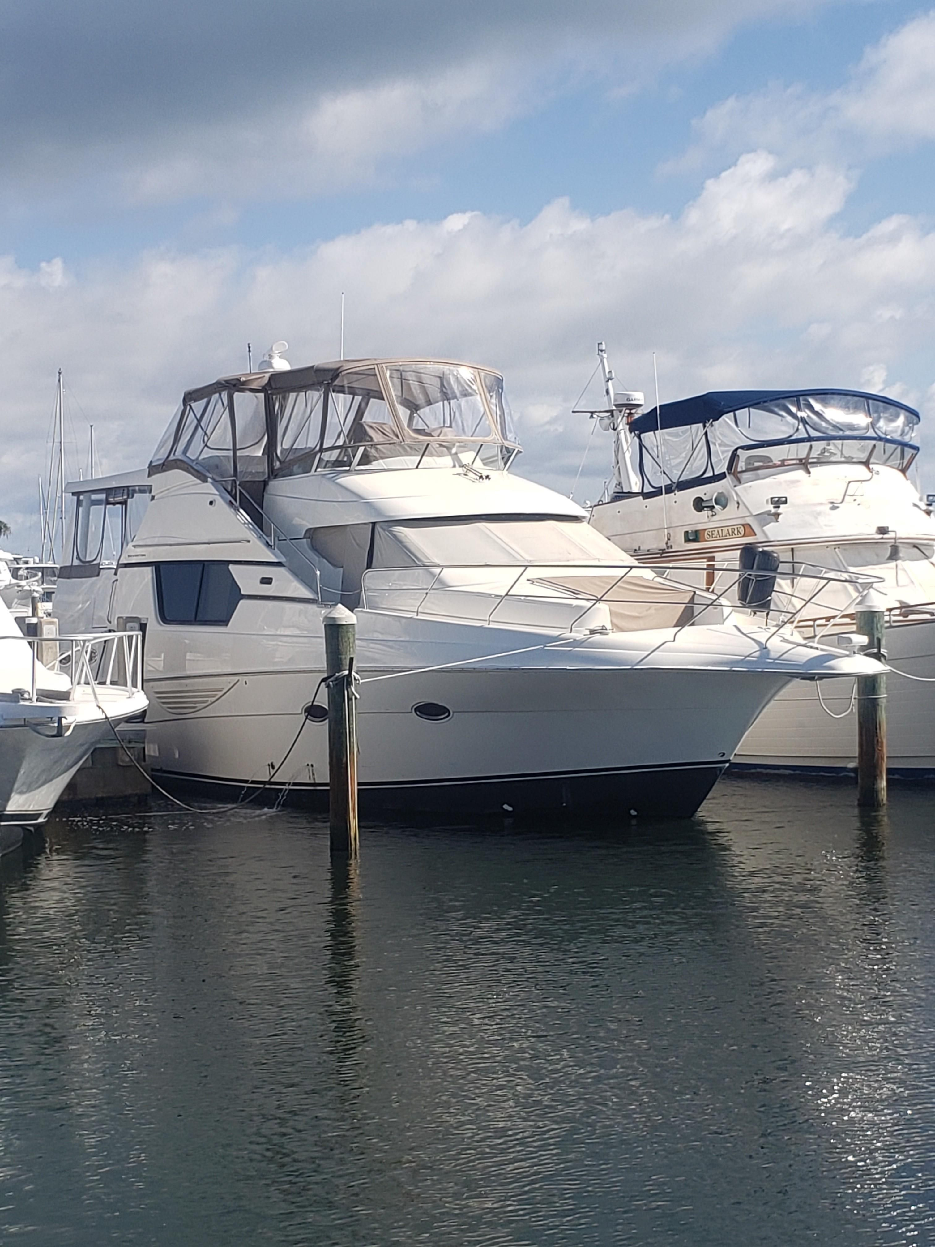 Big Ships Engine Rooms: 2003 Silverton 453 Motor Yacht Motor Yacht For Sale