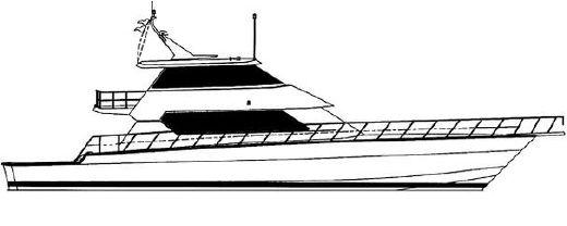 2001 Hatteras 86 Convertible
