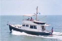 1978 Jarvis Newman Flybridge Downeast