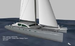 2014 Multiplast Custom sailing catamaran