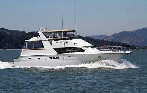 1990 Hatteras 52 Cockpit Motor Yacht
